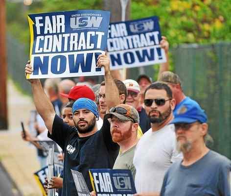Steelworkers Union Strike